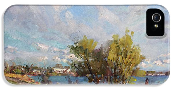 Spring At Gratwick Waterfront Park IPhone 5 Case