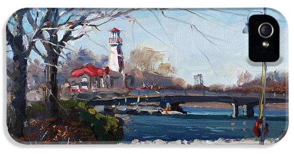 Spring At Port Credit IPhone 5 Case by Ylli Haruni