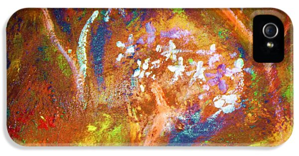 IPhone 5 Case featuring the painting Spring Blossom by Winsome Gunning