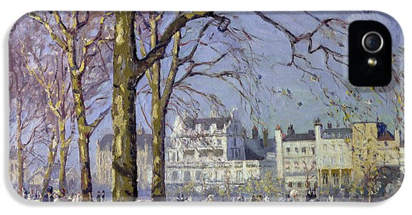 Spring In Hyde Park IPhone 5 / 5s Case by Alice Taite Fanner