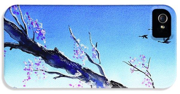 Spring In The Mountains IPhone 5 Case by Irina Sztukowski