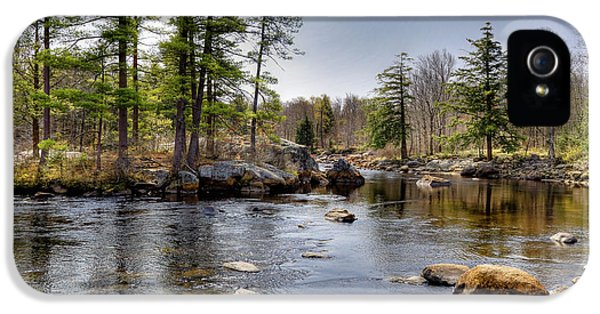 IPhone 5 Case featuring the photograph Spring Near Moose River Road by David Patterson
