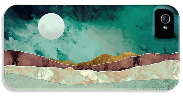 Landscape iPhone 5 Case - Spring Night by Katherine Smit