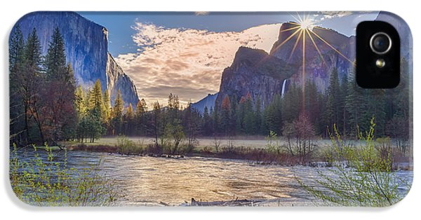 Spring Sunrise At Yosemite Valley IPhone 5 / 5s Case by Scott McGuire