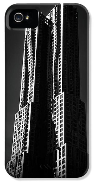 IPhone 5 Case featuring the photograph Spruce Street By Gehry by Jessica Jenney