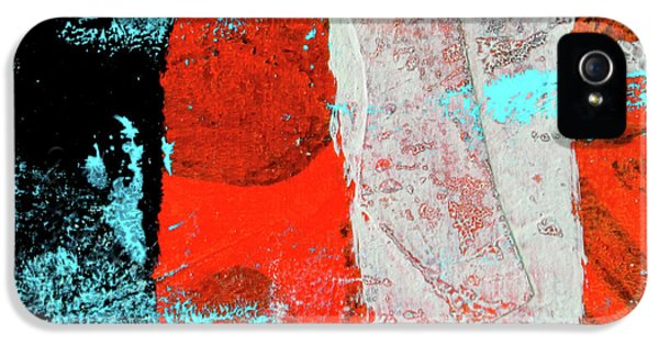 IPhone 5 Case featuring the mixed media Square Collage No. 9 by Nancy Merkle