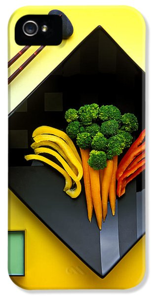 Carrot iPhone 5 Case - Square Plate by Garry Gay