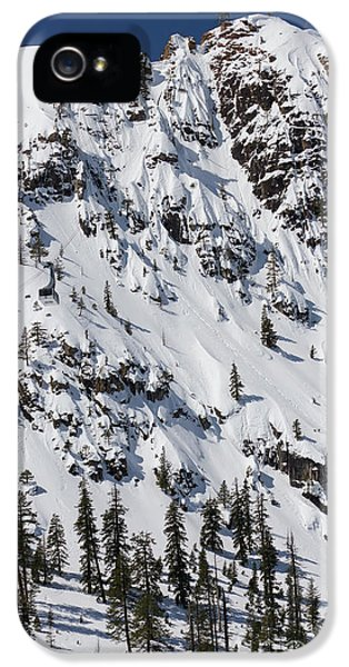 Squaw Valley Tram Hill  IPhone 5 Case