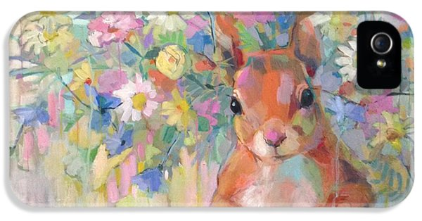 Squirreley IPhone 5 Case by Kimberly Santini
