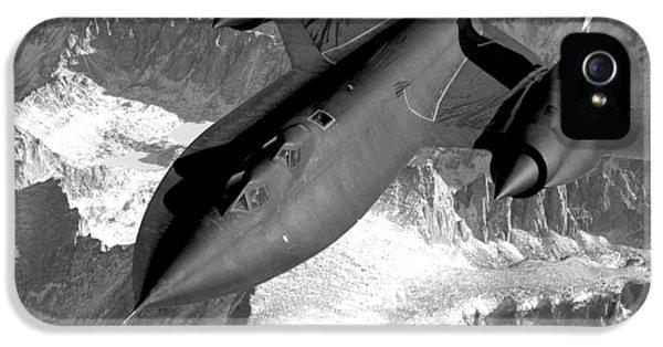 Blackbird iPhone 5 Case - Sr-71 Blackbird Flying by War Is Hell Store