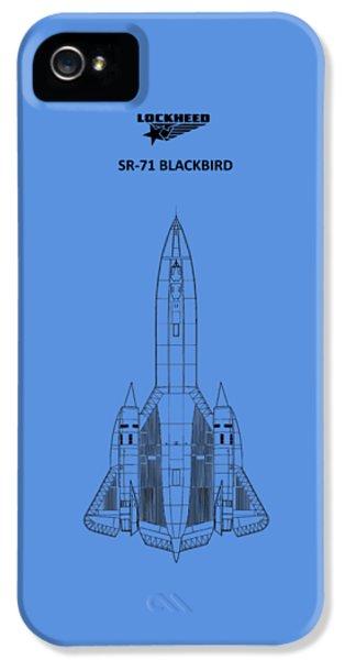 Sr-71 Blackbird IPhone 5 Case