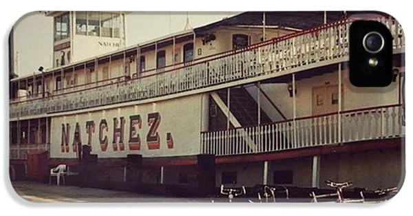 Ss Natchez, New Orleans, October 1993 IPhone 5 Case by John Edwards