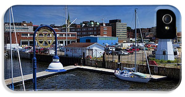 St. John New Brunswick Harbour With Cruise Ship IPhone 5 Case