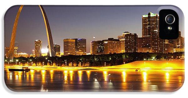 St Louis Skyline IPhone 5 Case by Bryan Mullennix