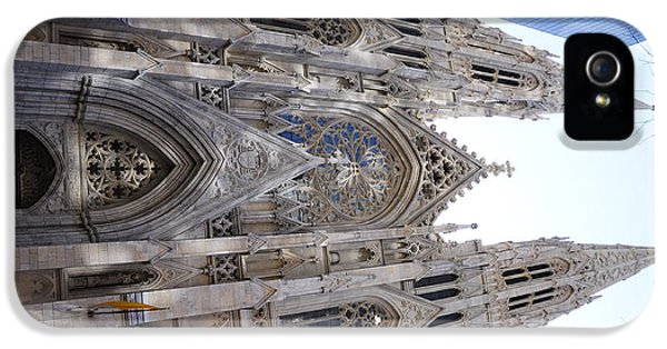 Design iPhone 5 Case - St Patrick's Cathedral Nyc by Jeffson Chan