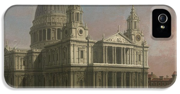 Wren iPhone 5 Case - St. Paul's Cathedral by Giovanni Antonio Canaletto