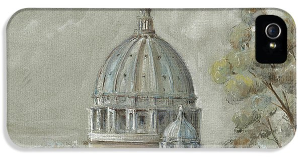 St Peter's Basilica Rome IPhone 5 Case