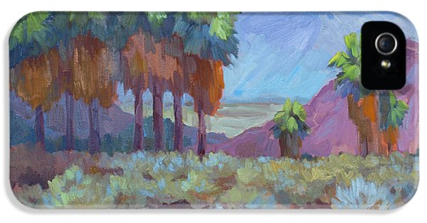 Standing Tall At Thousand Palms IPhone 5 Case