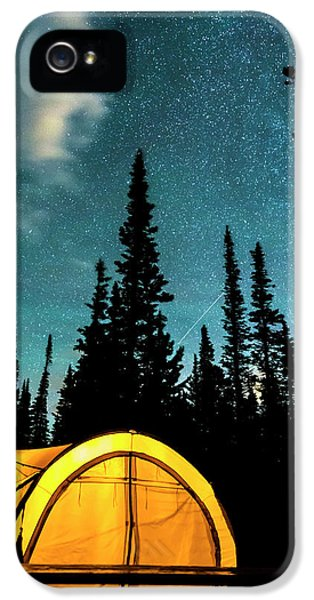 IPhone 5 Case featuring the photograph Star Camping by James BO Insogna