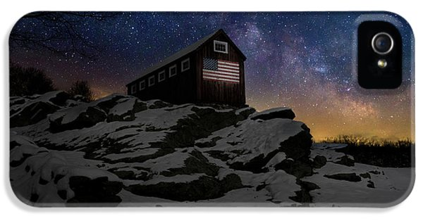 IPhone 5 Case featuring the photograph Star Spangled Banner by Bill Wakeley