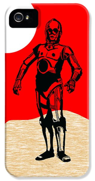Star Wars C-3po Collection IPhone 5 Case