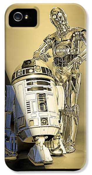 Star Wars C3po And R2d2 Collection IPhone 5 Case