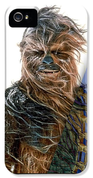 Star Wars Chewbacca Collection IPhone 5 Case by Marvin Blaine