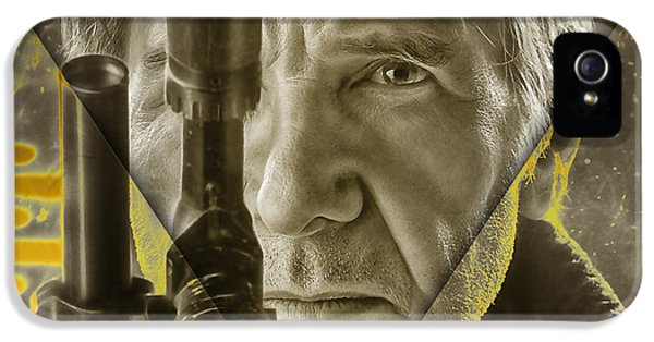 Star Wars Han Solo Collection IPhone 5 Case by Marvin Blaine