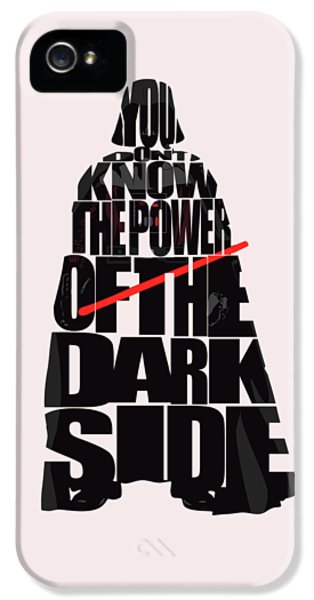 Star Wars Inspired Darth Vader Artwork IPhone 5 Case