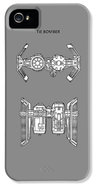 Star Wars - Spaceship Patent IPhone 5 Case by Mark Rogan