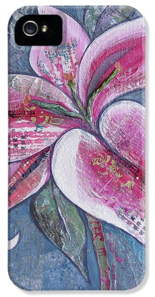 Lily iPhone 5 Case - Stargazer I by Shadia Derbyshire