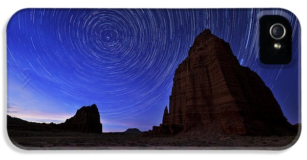 Stars Above The Moon IPhone 5 Case by Chad Dutson