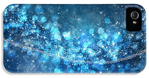 Aliens iPhone 5 Case - Stars And Bokeh by Setsiri Silapasuwanchai