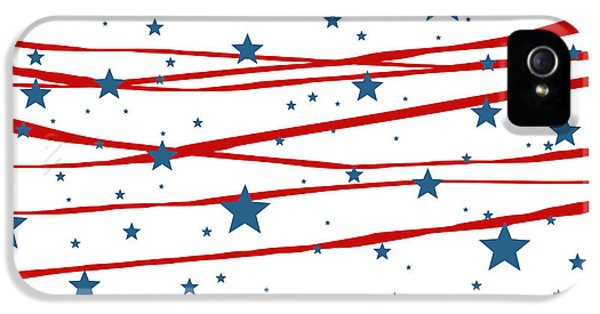 Stars And Stripes IPhone 5 Case by Marianna Mills
