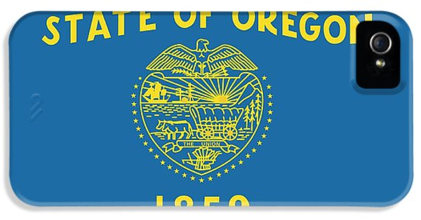 State Flag Of Oregon IPhone 5 / 5s Case by American School