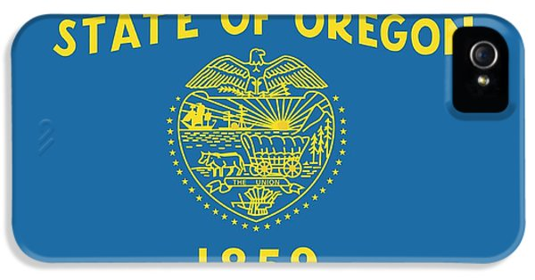 State Flag Of Oregon IPhone 5 Case by American School