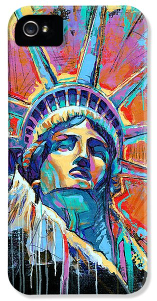 Statue Of Liberty New York Art Usa IPhone 5 Case