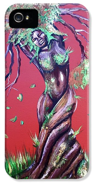 iPhone 5 Case - Stay Rooted- Stay Grounded by Artist RiA