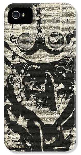 Steampunk Guy IPhone 5 Case