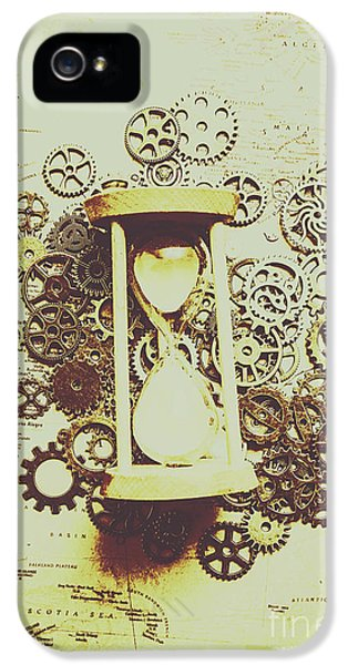 Steampunk Time IPhone 5 Case by Jorgo Photography - Wall Art Gallery