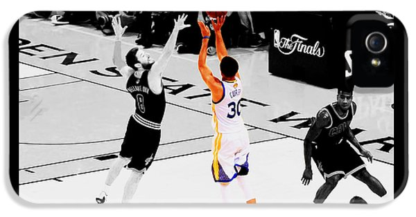 Stephen Curry Another 3 IPhone 5 Case by Brian Reaves