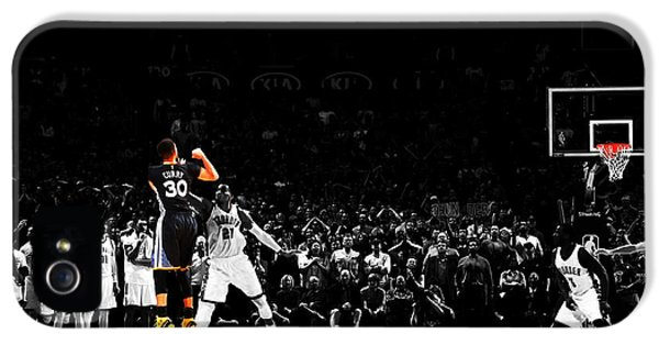 Stephen Curry Its Good IPhone 5 Case by Brian Reaves