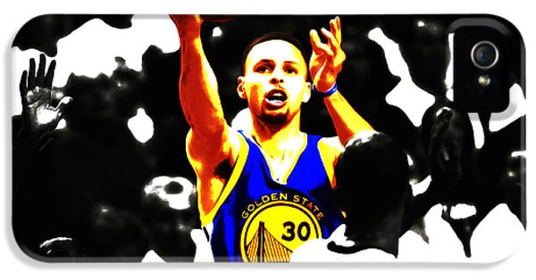 Stephen Curry Smooth As Ice IPhone 5 Case by Brian Reaves