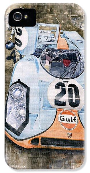 Steve Mcqueens Porsche 917k Le Mans IPhone 5 Case
