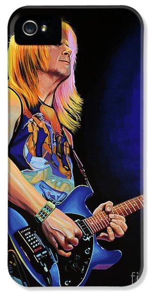 Steve Morse Painting IPhone 5 Case by Paul Meijering