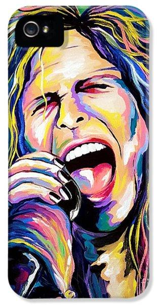 Steven Tyler iPhone 5 Case - Steven Tyler by Amy Belonio