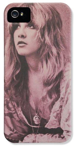 Music iPhone 5 Case - Stevie Nicks  by Donna Wilson
