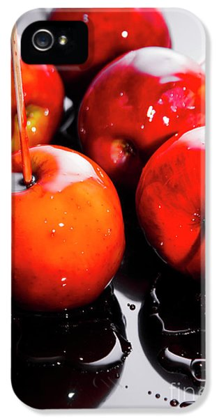 Sticky Red Toffee Apple Childhood Treat IPhone 5 Case