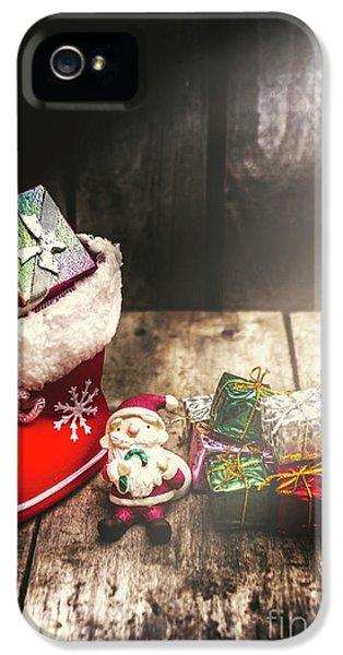 Still Life Christmas Scene IPhone 5 Case by Jorgo Photography - Wall Art Gallery