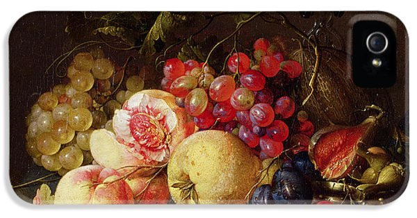 Still Life IPhone 5 Case by Cornelis de Heem